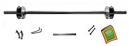 Spring shafts kit