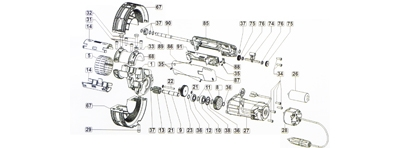 New and used engine spare parts for rolling shutter