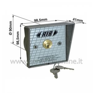 Key switch RIB