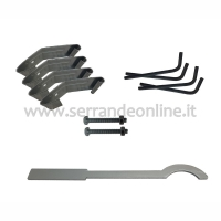 Automatic Spring shafts kit with four springs